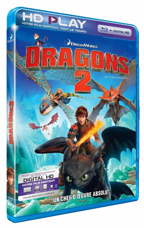 Dragons 2 [Combo Blu-ray + Copie digitale]