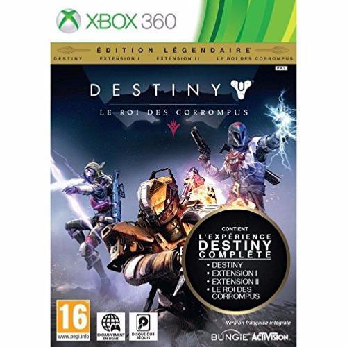 Destiny : le roi des corrompus edition légendaire (XBOX 360)