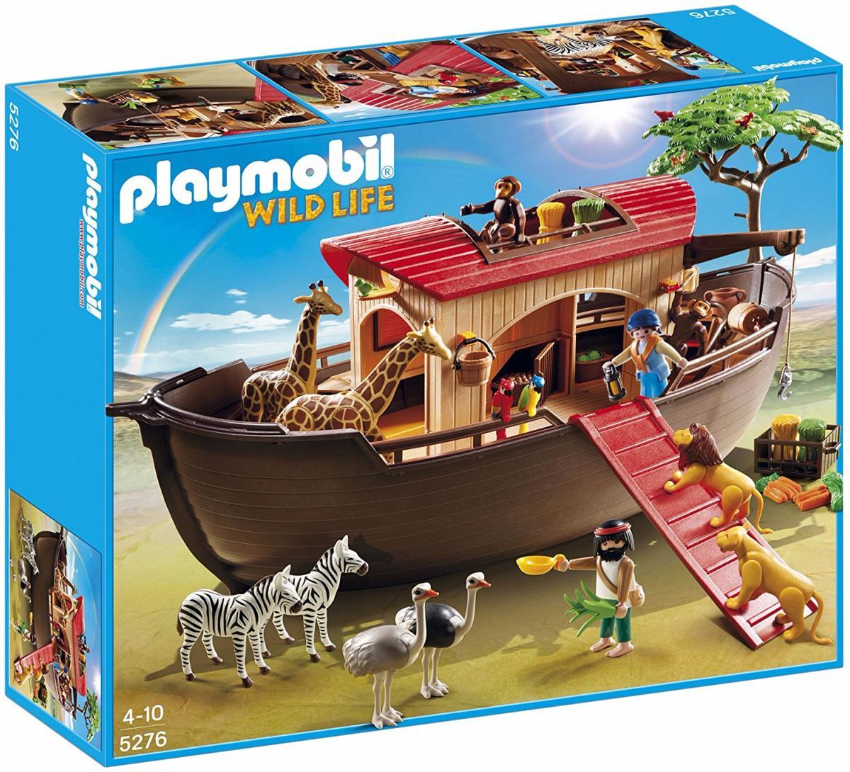 Playmobil - 5276 - Arche De Noé Avec Animaux De La Savane