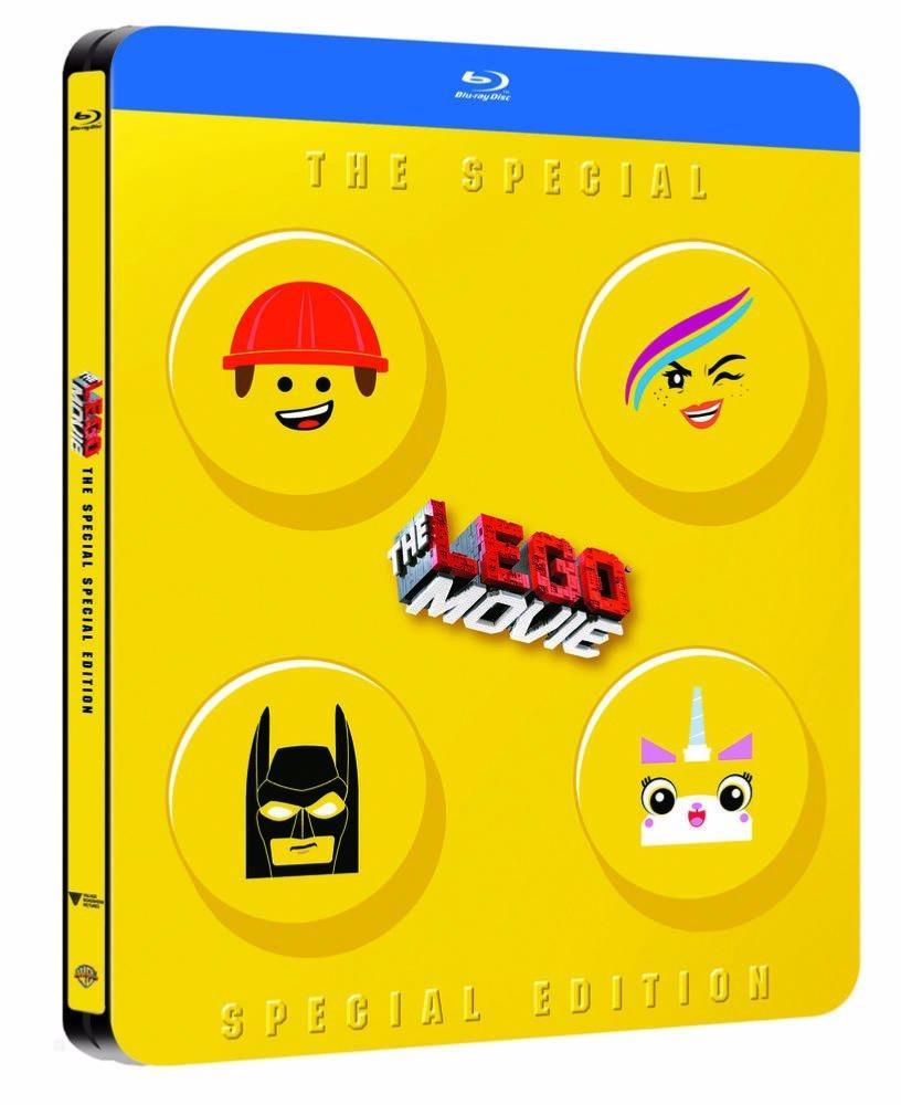 La Grande aventure Lego [Edition Spéciale - Boîtier SteelBook Blu-ray]