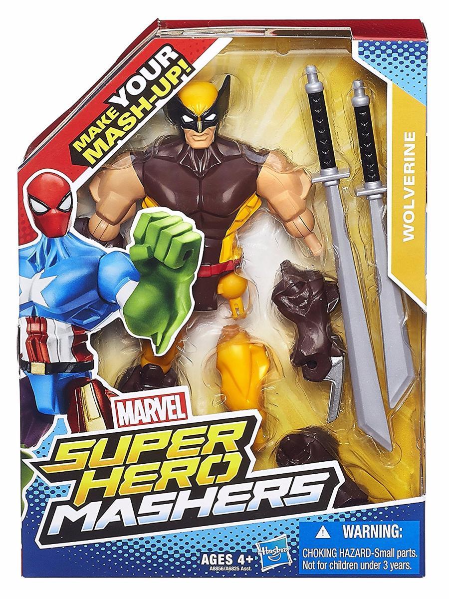 Marvel Super Hero Mashers Wolverine Figurine Personnalisable 15 cm