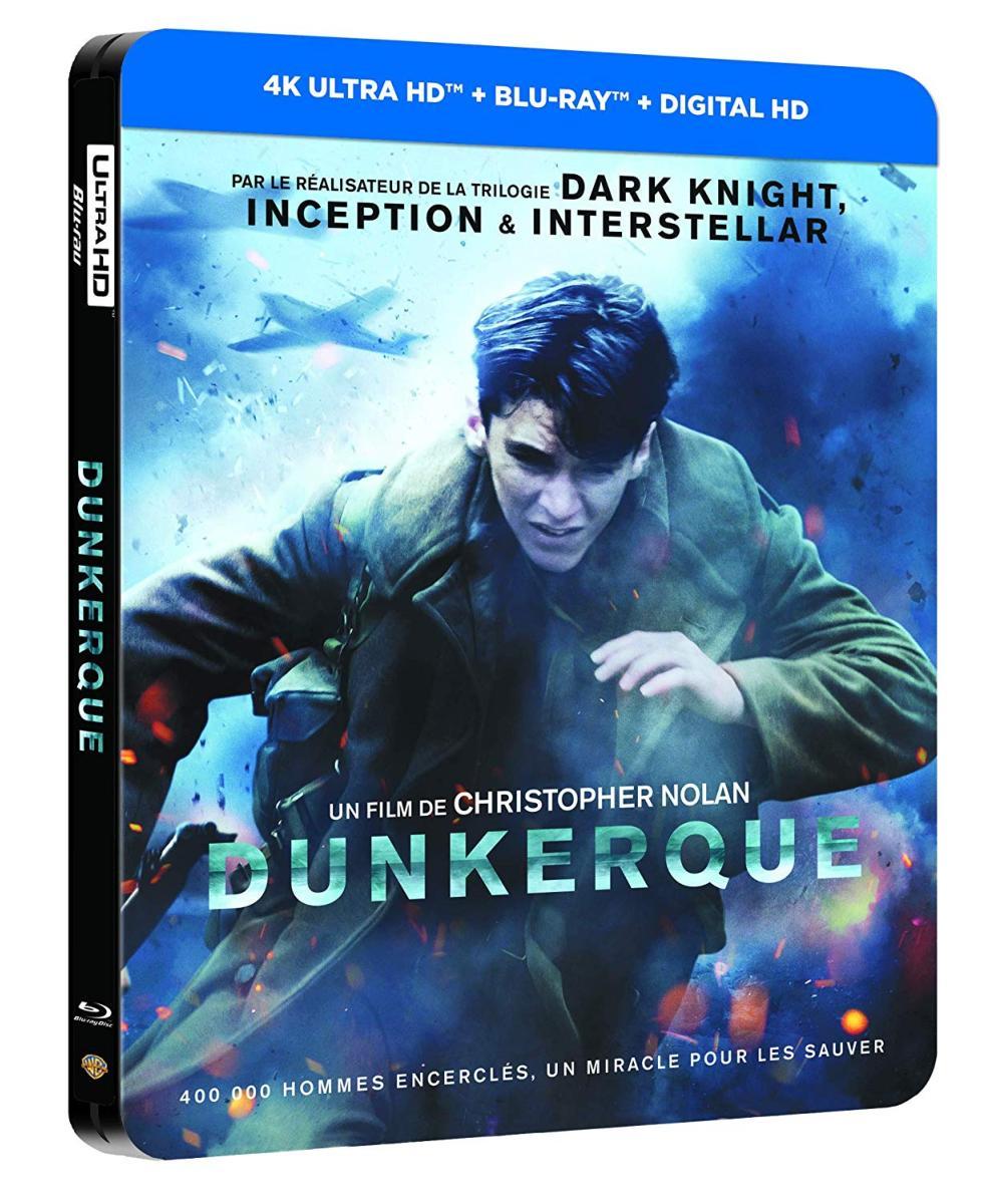 Dunkerque Edition SteelBook [Blu-ray 4K + Ultra HD]