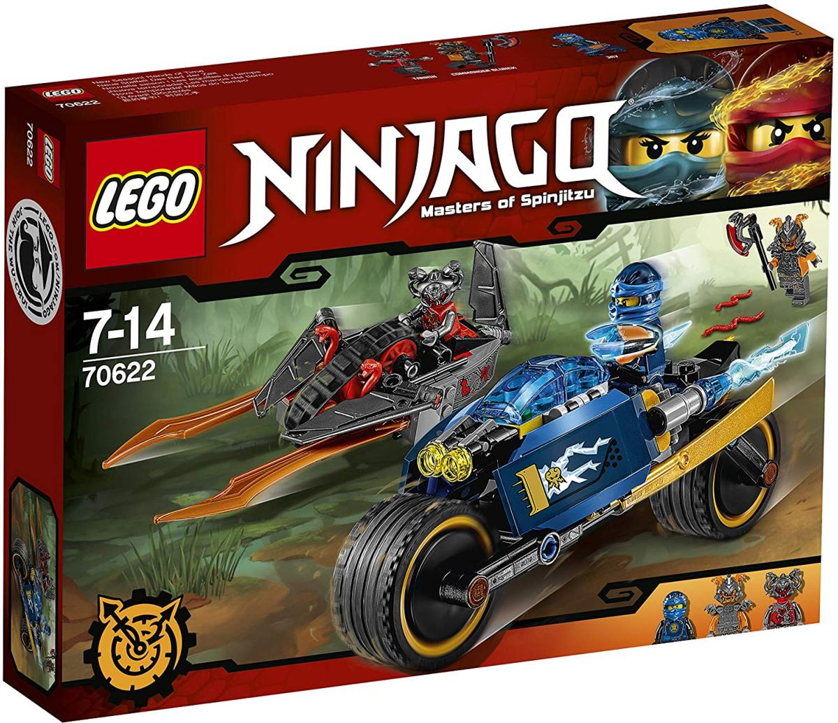 LEGO - 70622 - NINJAGO - L\'éclair du désert