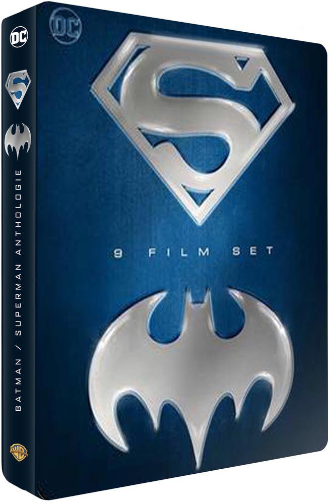 Batman Superman - Coffret 9 films [DVD]