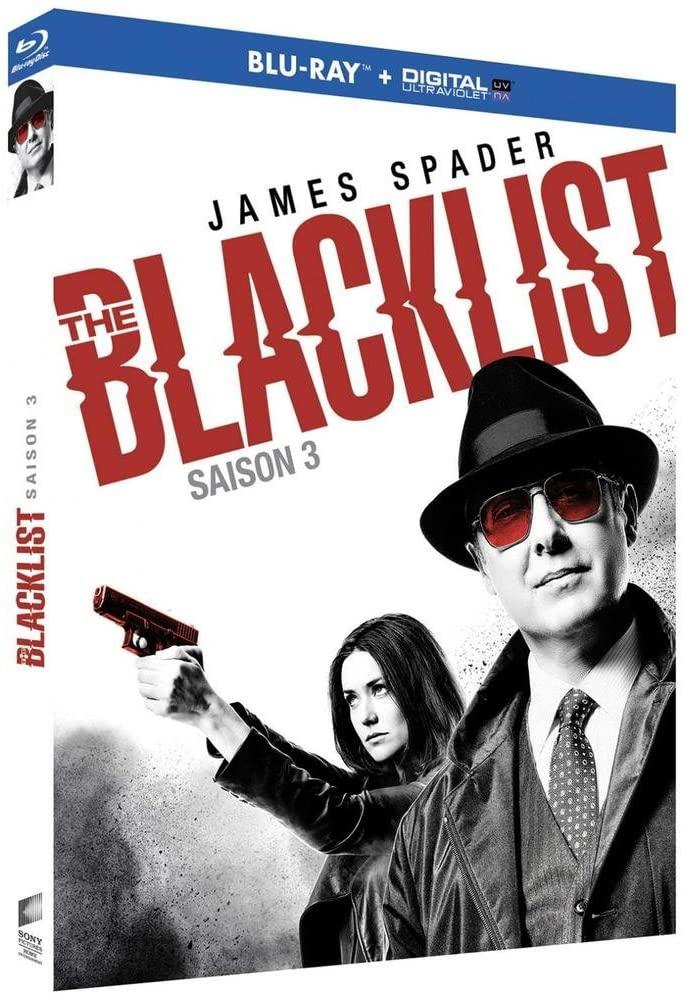 The Blacklist-Saison 3 [Blu-Ray + Copie Digitale]