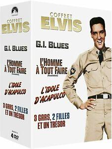 film dvd comedie elvis GI blues l'homme a tout faire l'idole d'acapulco 3 gars 2 filles et un tresor
