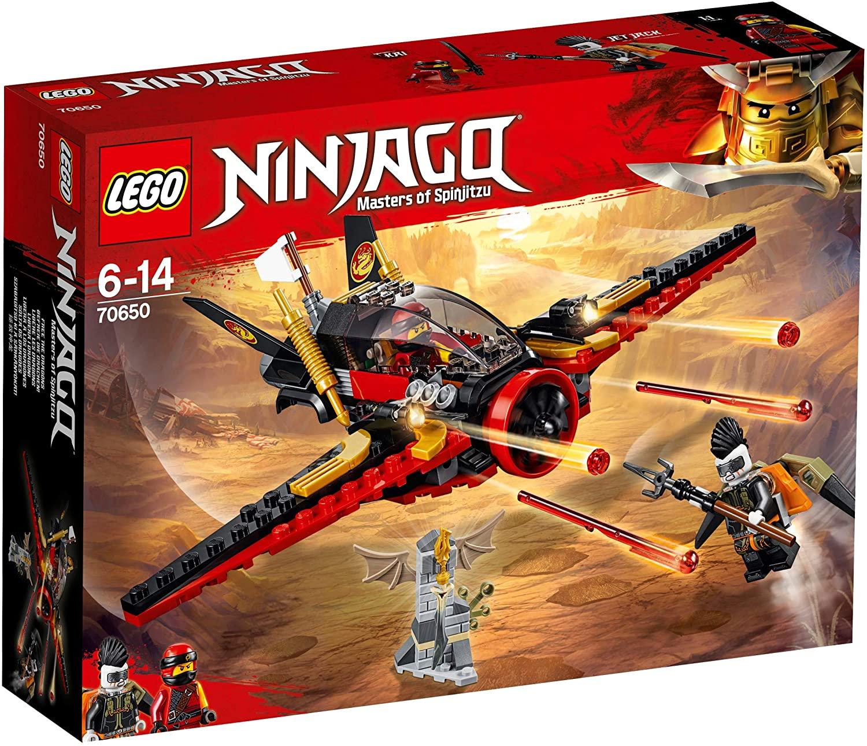 Jouet LEGO 70650 Ninjago La Poursuite dans Les airs