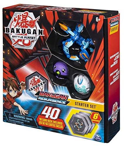 Spin Master - Bakugan Battle Plane Battle Brawlers Aquos Pyravian Blue