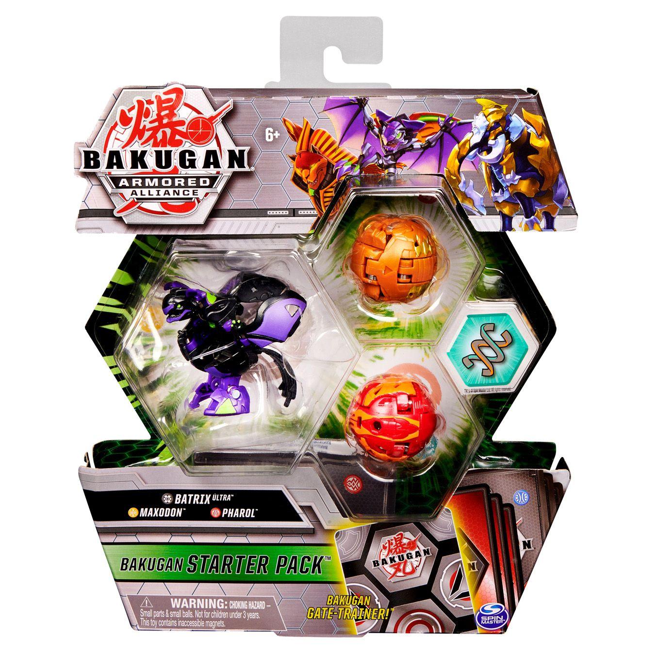 Starter Pack Bakugan Saison 2 - Batrix Ultra