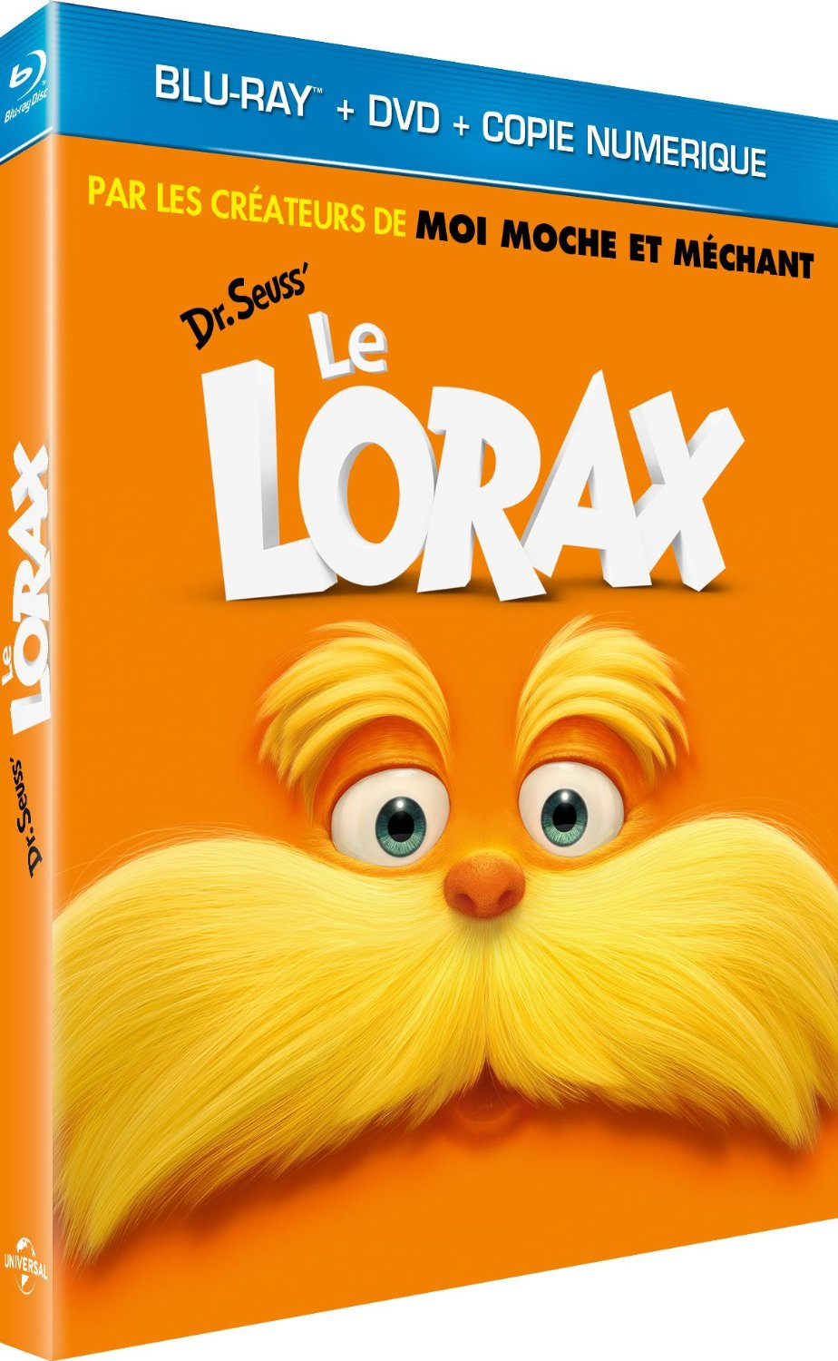 Le Lorax [Combo Blu-ray + DVD + Copie digitale]