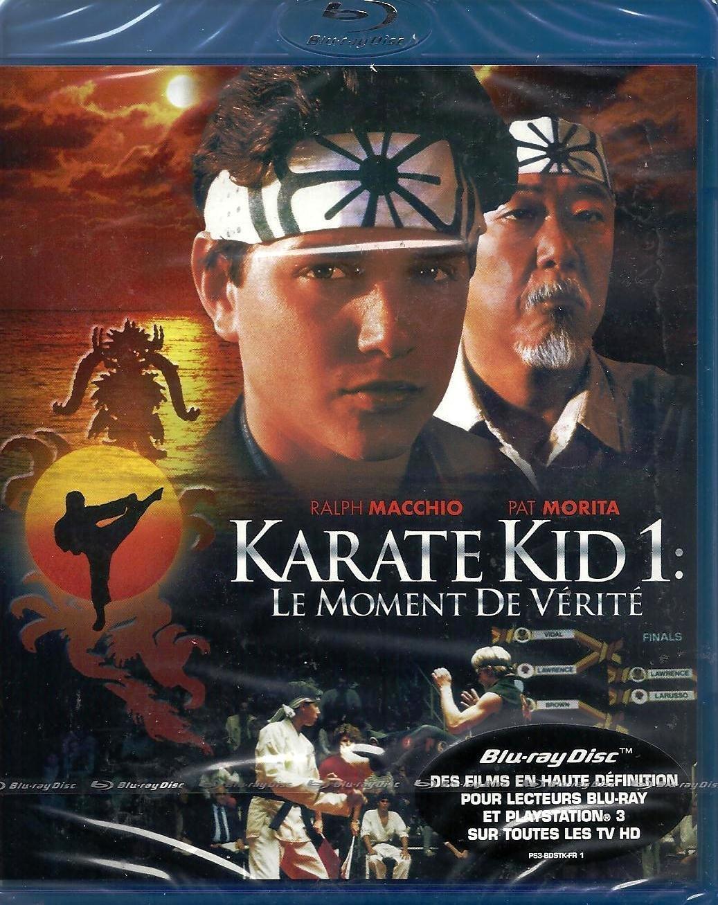 Karaté Kid 1 : Le moment de vérité [Blu-ray]