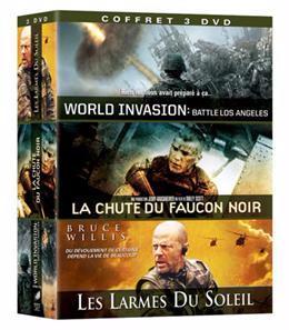 World Invasion: Battle Los Angeles + La chute du faucon noir [DVD]+ Les larmes du soleil