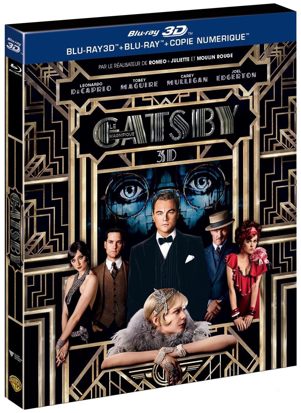 Gatsby le magnifique - Combo Blu-ray + Blu-ray 3D + Blu-ray + Copie digitale]