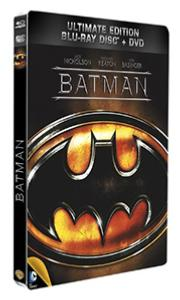 Batman - [Blu-Ray + DVD - Steelbook format] - Collection DC COMICS