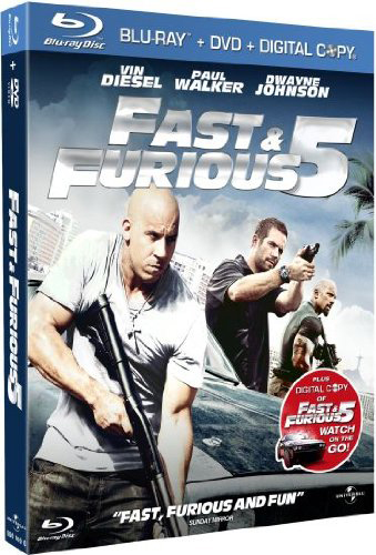 Fast and Furious 5 [Combo Blu-ray + DVD - Edition boitier Métal]