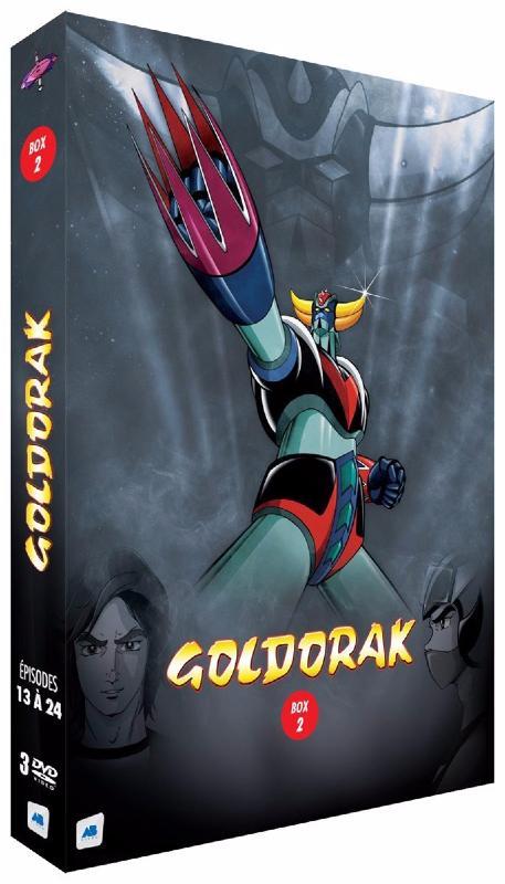Goldorak - Box 2 - Épisodes 13 à 24 [Non censuré] (DVD)