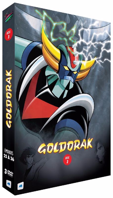 Goldorak - Box 3 - Épisodes 25 à 36 [Non censuré] (DVD)