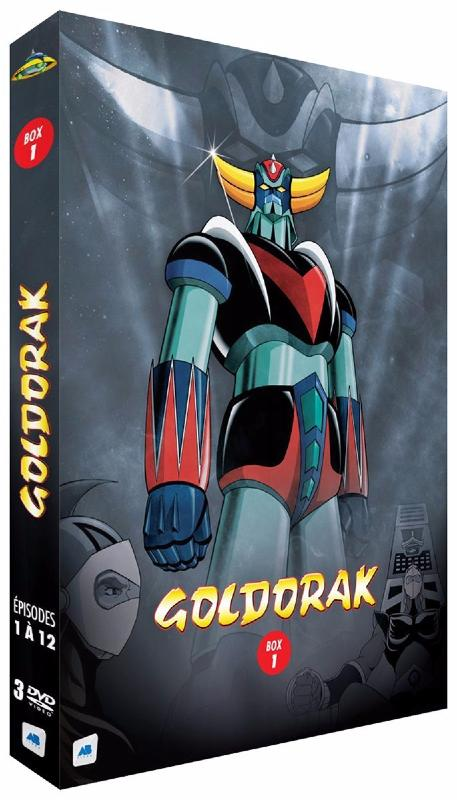 Goldorak - Box 1 - Épisodes 1 à 12 [Non censuré] (DVD)