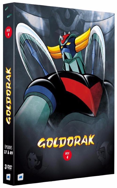 Goldorak - Box 4 - Épisodes 37 à 49 [Non censuré] (DVD)