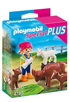 Playmobil - 4785 - Enfants avec chèvres