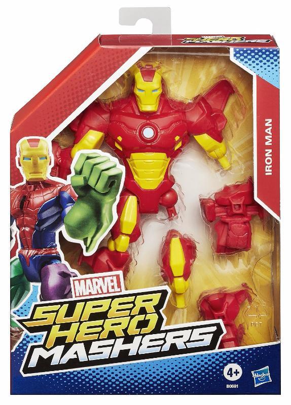 Marvel Super Hero Mashers Iron Man Figurine Personnalisable 15 cm