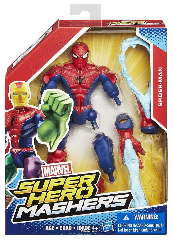 Marvel Super Hero Mashers Spider-Man Figurine Personnalisable 15 cm