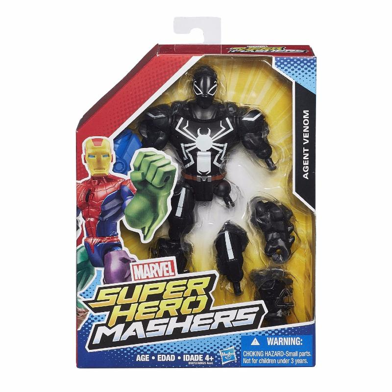 Marvel Super Hero Mashers Agent Venom Figurine Personnalisable 15 cm