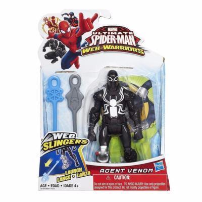 Marvel Ultmate Web-Warriors Agent Venom Web Slingers