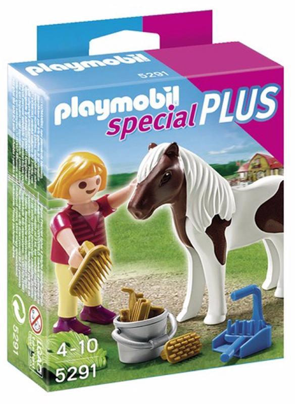 Playmobil - 5291 - Enfant Avec Poney
