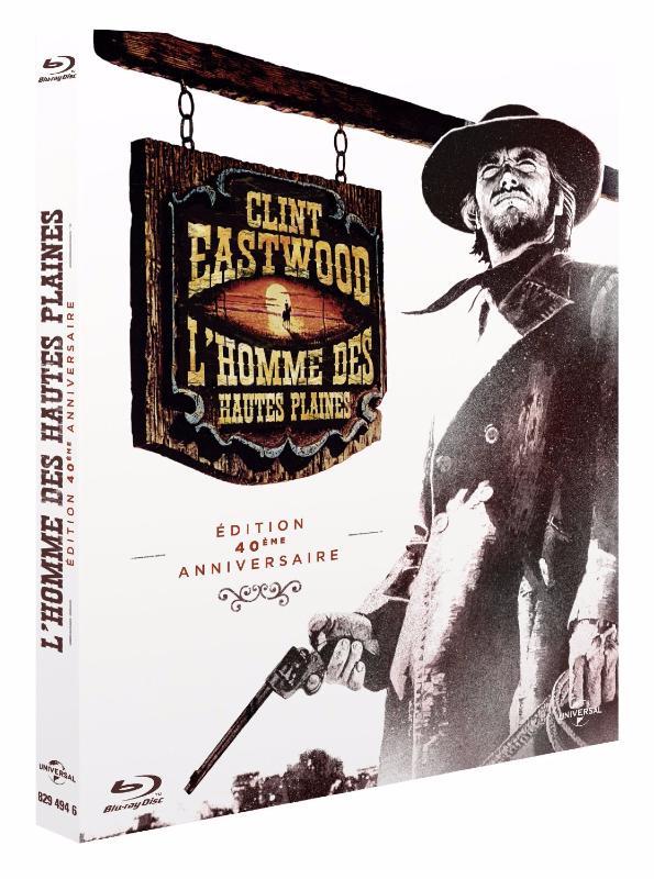 L\'Homme des hautes plaines [Edition 40ème Anniversaire] [Blu-ray]