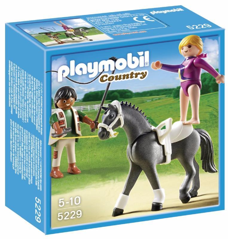 Playmobil - 5229 - Dresseur de Chevaux et Voltigeuse
