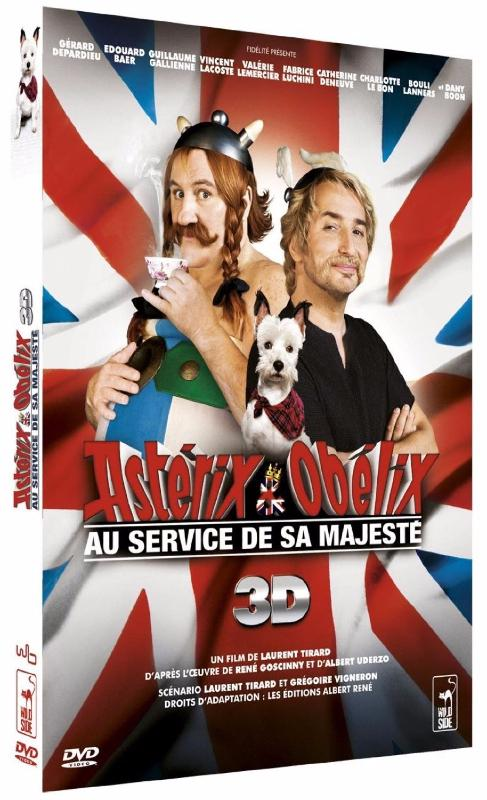 Asterix et Obelix : au service de Sa Majesté (Collector 2 DVD [Version 3-D])