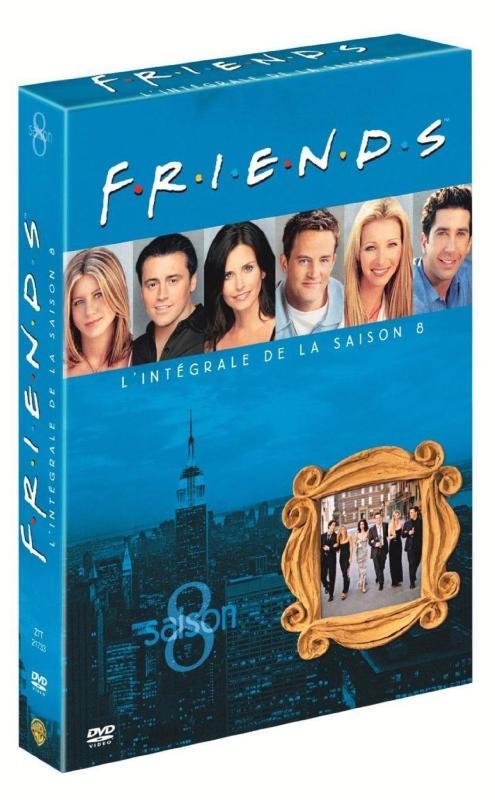 Friends - L\'Intégrale Saison 8 - Édition 3 DVD (DVD)
