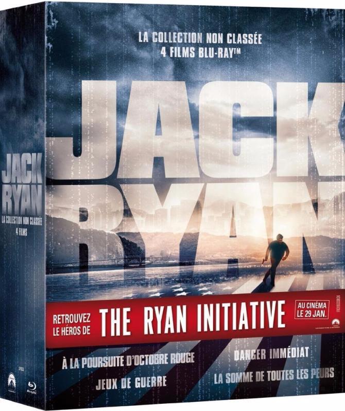 Jack Ryan - Coffret 4 films (Blu-Ray)