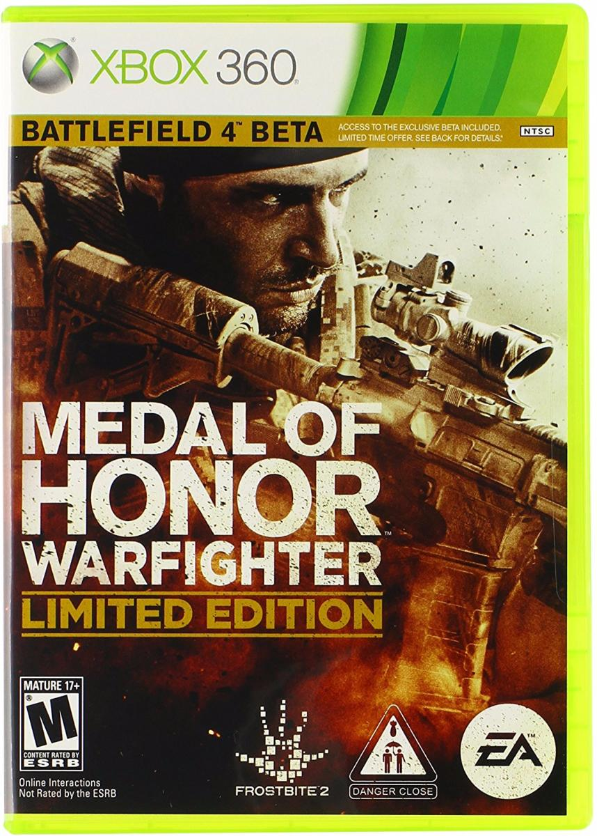 Medal of honor warfighter battlefield 4 beta (XBOX 360)