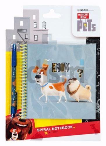 Notebook avec stylo La vie secrète des Animaux