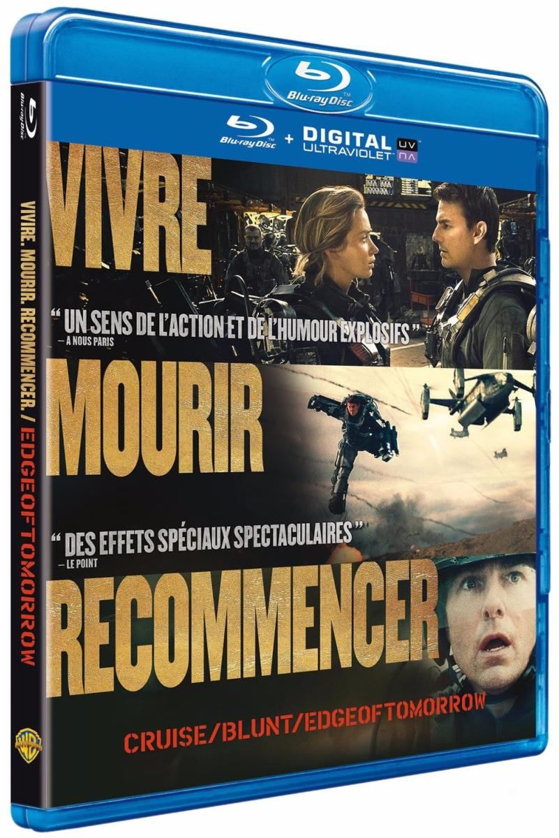 Edge of Tomorrow [Blu-ray + Copie Digitale]