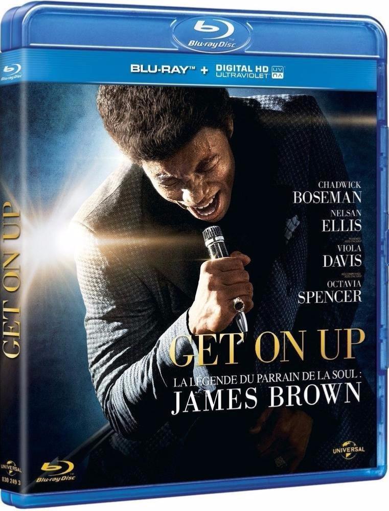 Get on Up, James Brown : une épopée américaine [Blu-ray]