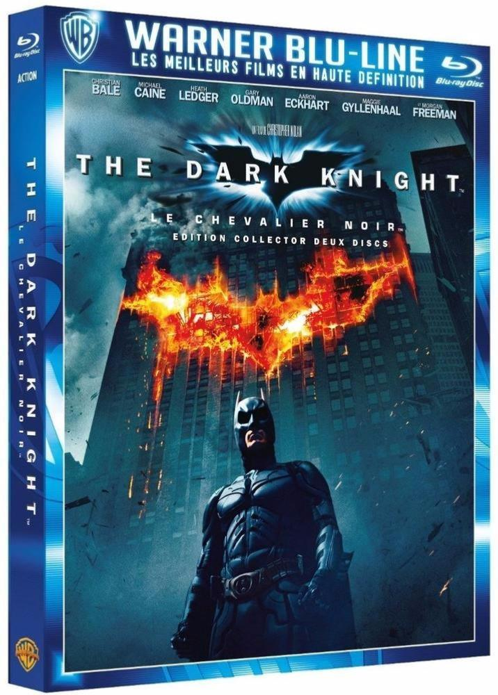 Batman - The Dark Knight le Chevalier Noir [Edition Collector] - Blu-ray]