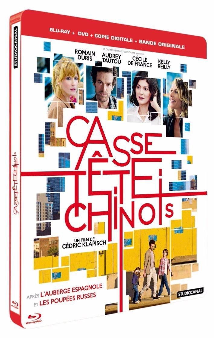 Casse-tête chinois [Combo Blu-ray + DVD + Copie digitale + CD BOF - Edition boîtier SteelBook]