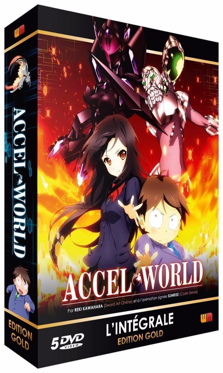 Accel World - Intégrale - Edition Gold (5 DVD + Livret)