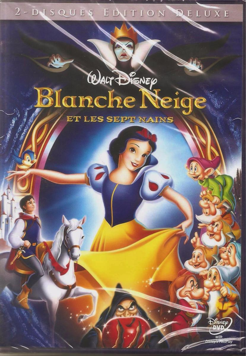 Blanche Neige et les sept nains edition deluxe (DVD)