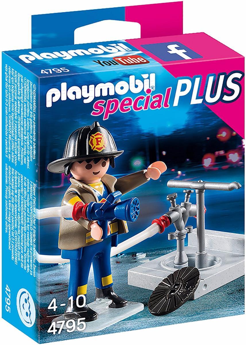 Playmobil - 4795 - Pompier soldat du feu