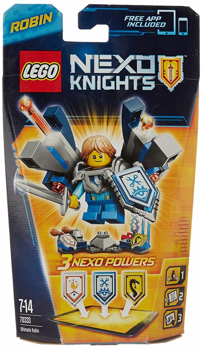 LEGO - 70333 - Nexo knights - Robin l\'ultime chevalier