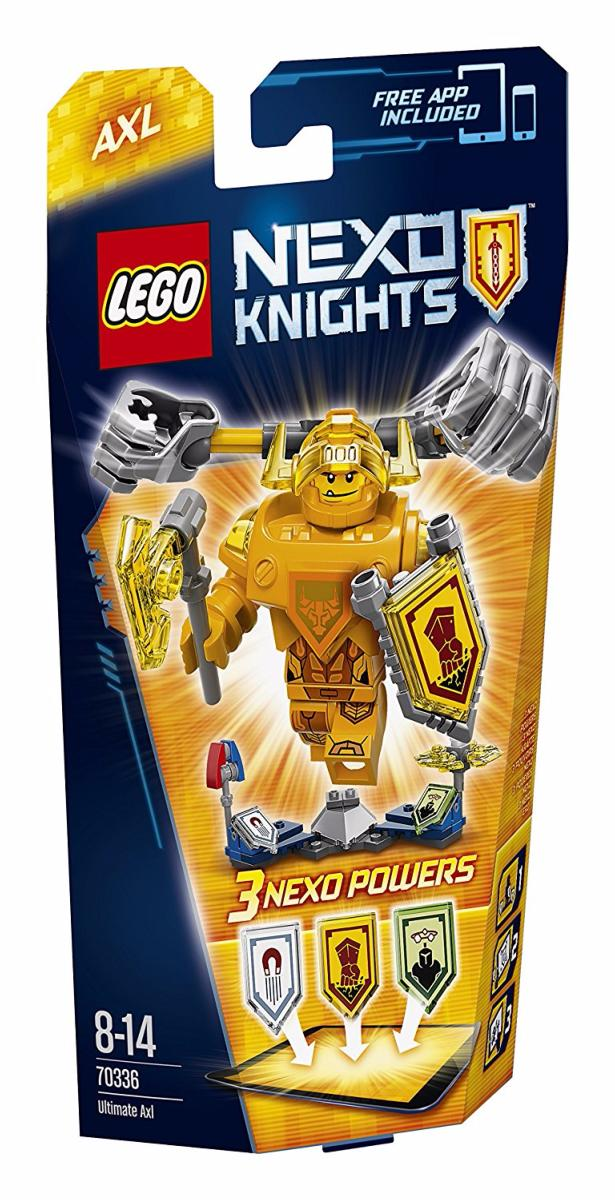 LEGO - 70336 - Nexoknights - Axl l\'Ultime chevalier