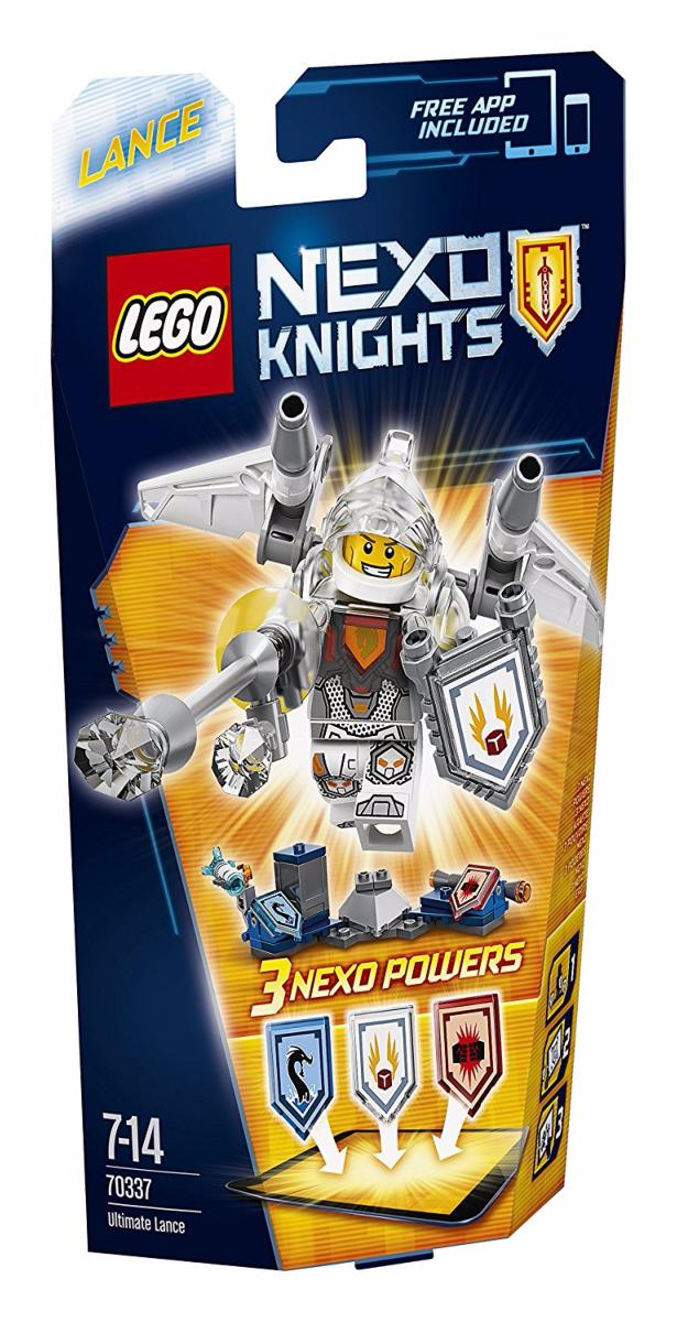 LEGO - 70337 - Nexo Knights - Lance l\'Ultime chevalier
