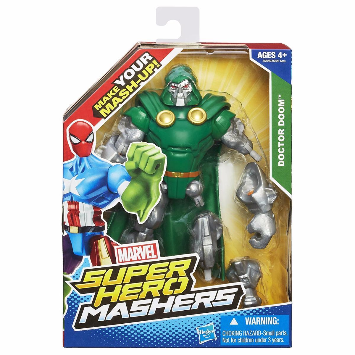 Marvel Super Hero Mashers Doctor Doom Figurine Personnalisable 15 cm