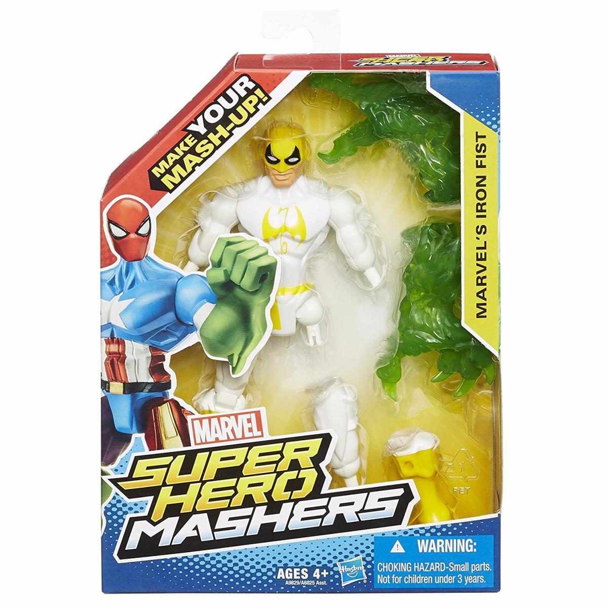 Marvel Super Hero Mashers Marvel\'s Iron Fist Figurine Personnalisable 15 cm