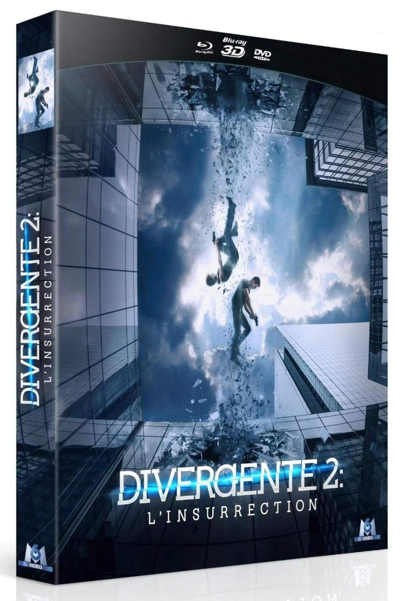 Divergente 2 : L\'insurrection [Combo Collector Blu-ray 3D + Blu-ray + DVD]