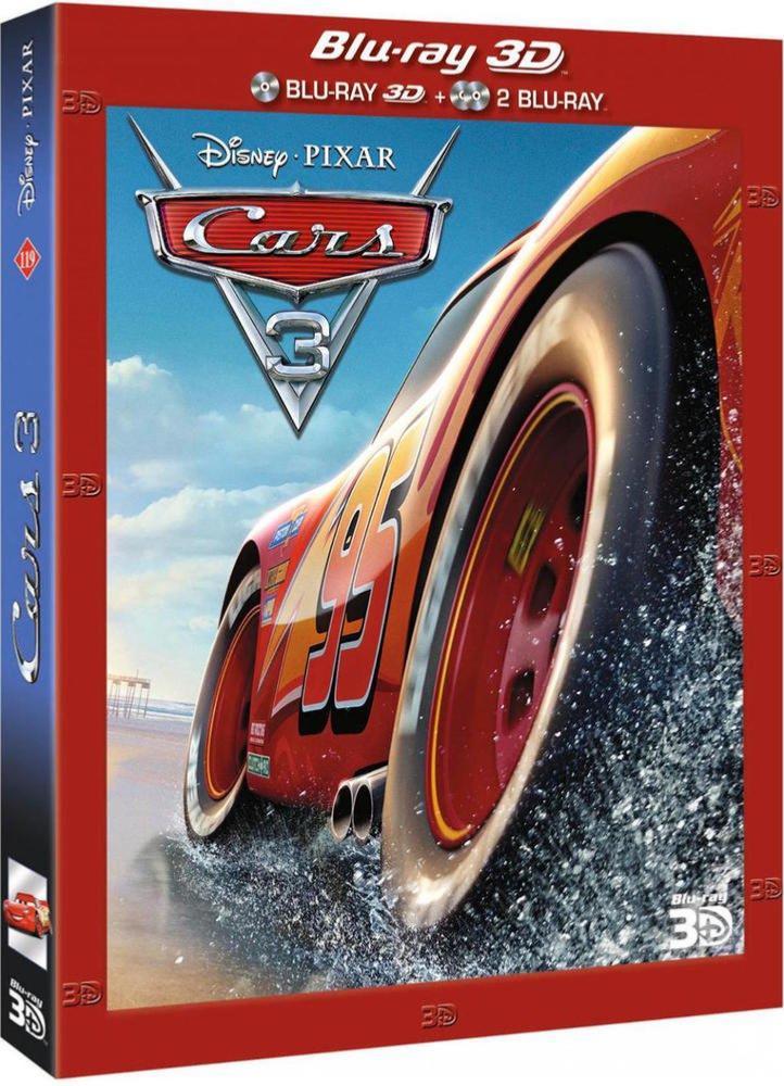 Cars 3 [Combo Blu-ray 3D + Blu-ray 2D]